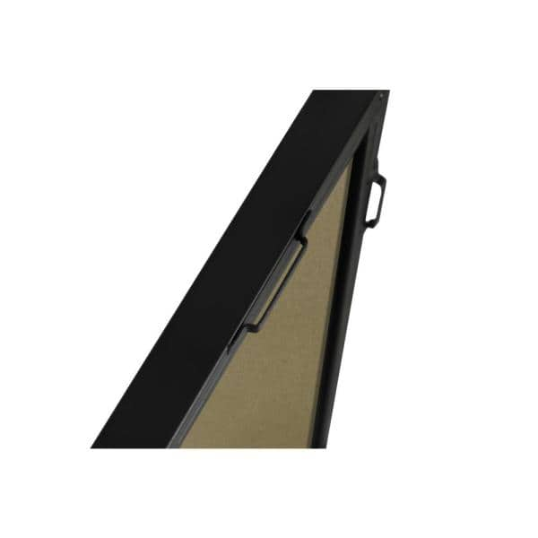 Large Rectangle Black Modern Mirror 42 In H X 28 In W Wm8154black The Home Depot