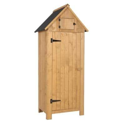 70 in. Wood Storage Shed