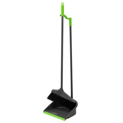 Brilliant Collection Nylon Angle Broom with Dust Pan