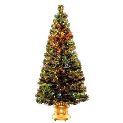 5 ft. Fiber Optic Radiance Fireworks Artificial Christmas Tree