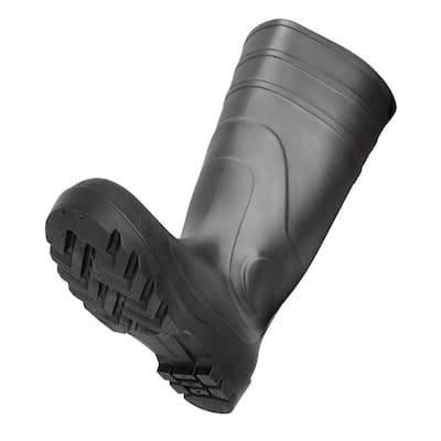 Classic Mens Size 12 Black PVC Work Boots