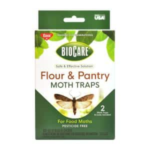 Non-Toxic Flour and Pantry Moth Traps (Case of 2)
