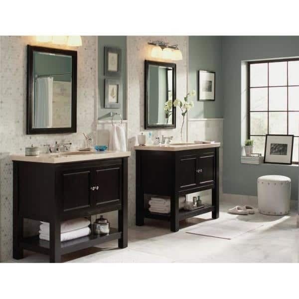 Home Decorators Collection Gazette 36 In W Bath Vanity Cabinet Only In Espresso Gaea3622 The Home Depot