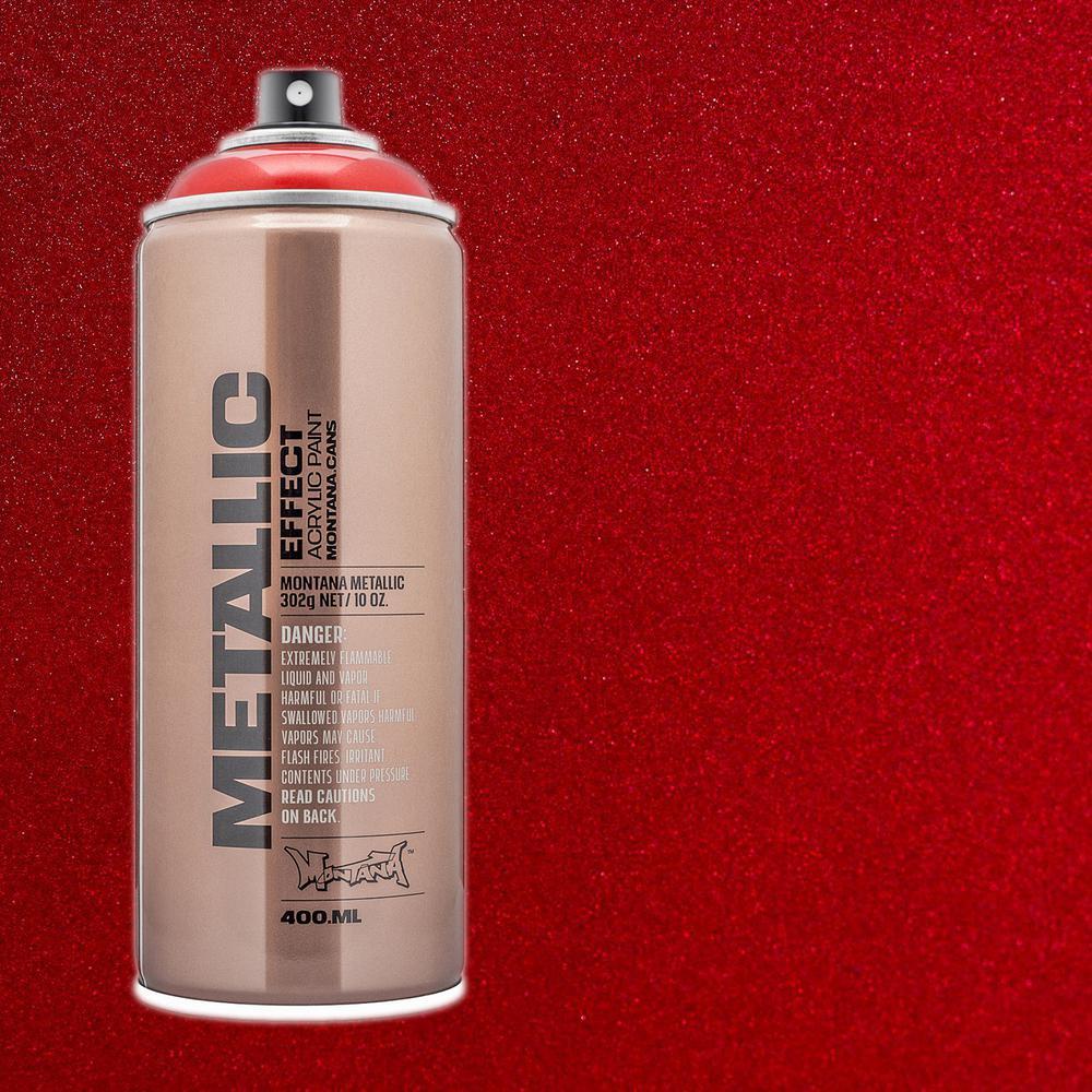 10 oz. METALLIC EFFECT Spray Paint, Red
