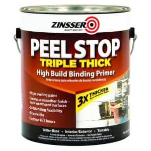 Peel Stop 1 gal. White Triple Thick Interior/Exterior High Build Binding Primer (2-Pack)