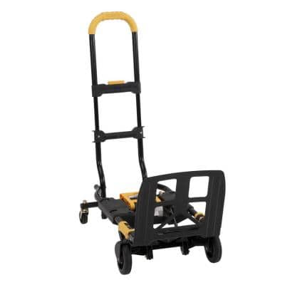Shifter XL 300 lbs.Capacity 2-in-1 Folding Hand Truck with Extendable Handles
