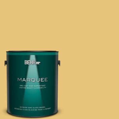 1 gal. #MQ4-13A Celebration One-Coat Hide Semi-Gloss Enamel Interior Paint & Primer