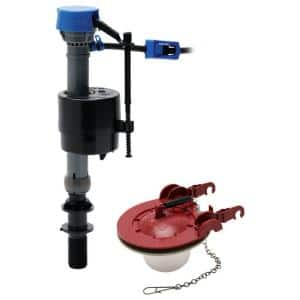 PerforMAX Universal High Performance Toilet Fill Valve and 3 in. Adjustable Toilet Flapper Repair Kit