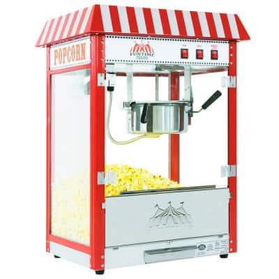 8 oz. Commercial Carnival Bar Style Popcorn Popper Machine