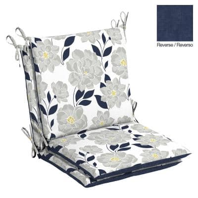 Belcourt 20 x 37 Flower Show Outdoor Dining Chair Cushion (2-Pack)