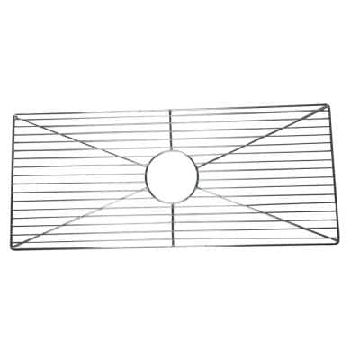 Gwen 28-1/2 in. x 14 in. Wire Grid for Single Bowl Kitchen Sinks in Stainless Steel