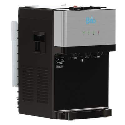 Tri-Temp 2-Stage Countertop Point of Use Water Cooler with UV Self-Cleaning