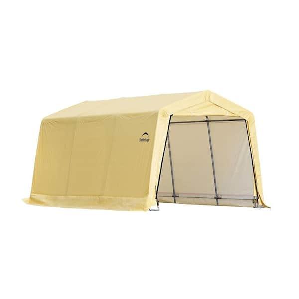 Shelterlogic 10 Ft W X 15 D 8, Portable Car Garage Home Depot