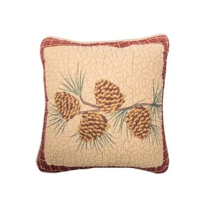 Pine Lodge Dec Pillow (pine branch)