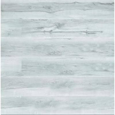 Lanikai Mist 7.13 in. W x 48.03 in. L Rigid Core Click Lock Luxury Vinyl Plank Flooring (19.02 sq. ft./case)