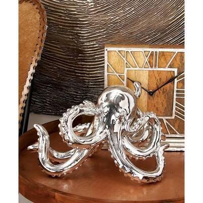 Polystone Octopus Sculpture