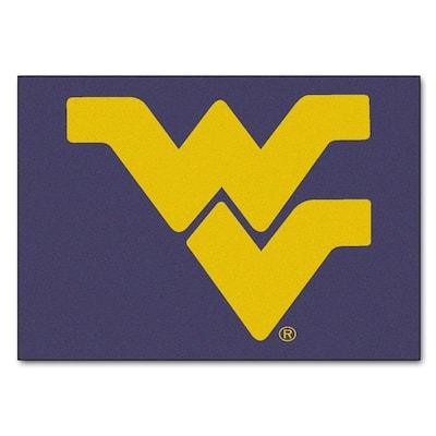 West Virginia University 5 ft. x 6 ft. Tailgater Rug