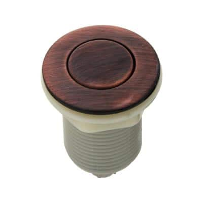 Garbage Disposal Sink Top Air Switch for Kitchen Counter in Oil Rubbed Bronze