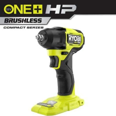 ONE+ HP 18V Brushless Cordless Compact 3/8 in. Impact Wrench (Tool Only)