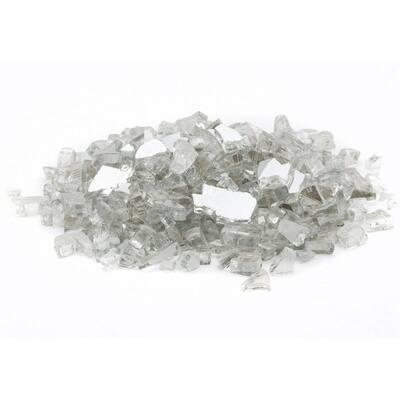 1/2 in. 20 lb. Medium Crystal Reflecitive Fire Glass