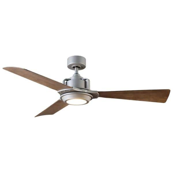 Modern Forms Osprey 56 In Led Indoor Outdoor Graphite 3 Blade Smart Ceiling Fan With 3000k Light Kit And Wall Control Fr W181756lghwg The Home Depot