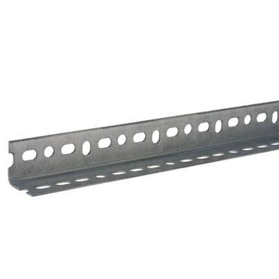 1-1/2 in. x 12 in. Zinc-Plated Slotted Angle