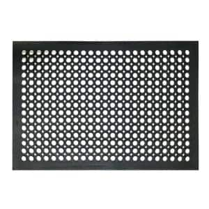 Indoor/Outdoor Durable Anti-Fatigue 24 in. x 36 in. Industrial Commercial Home Restaurant Bar Drainage Rubber Floor Mat