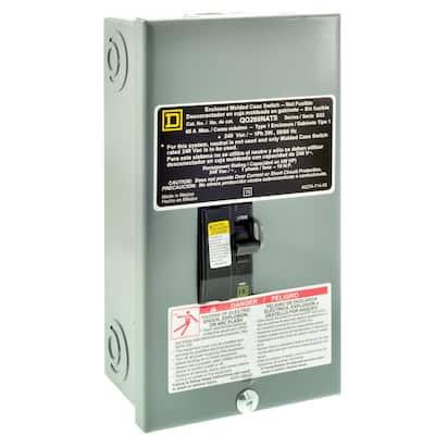 QO 60 Amp Nema 3R Disconnect Molded Case Switch