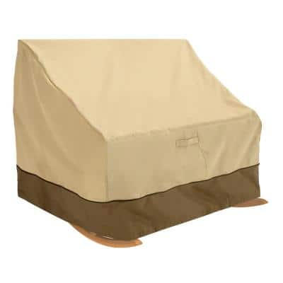 Veranda Double-Wide Outdoor Rocking Chair Cover - Durable and Water Resistant Outdoor Patio Cover