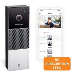 Netatmo Smart Home 1080P No Subscription Wired Video Doorbell