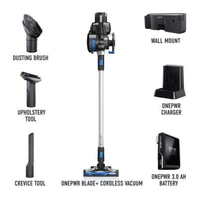 ONEPWR Blade+ Cordless Stick Vacuum Cleaner with Removable Handheld Vacuum