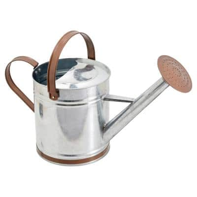 Classic 1.3 Gal. Chrome Metal Watering Can