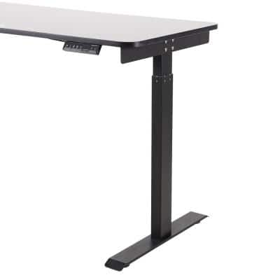 48 in. Black Adjustable Height Standing Up Desk for Home Office