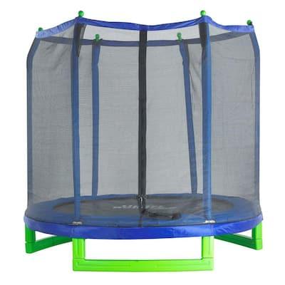 7 ft. Indoor/Outdoor Classic Trampoline and Enclosure Set