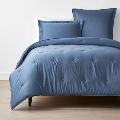 Company Cotton Bamboo Blue Horizon King Sateen Comforter