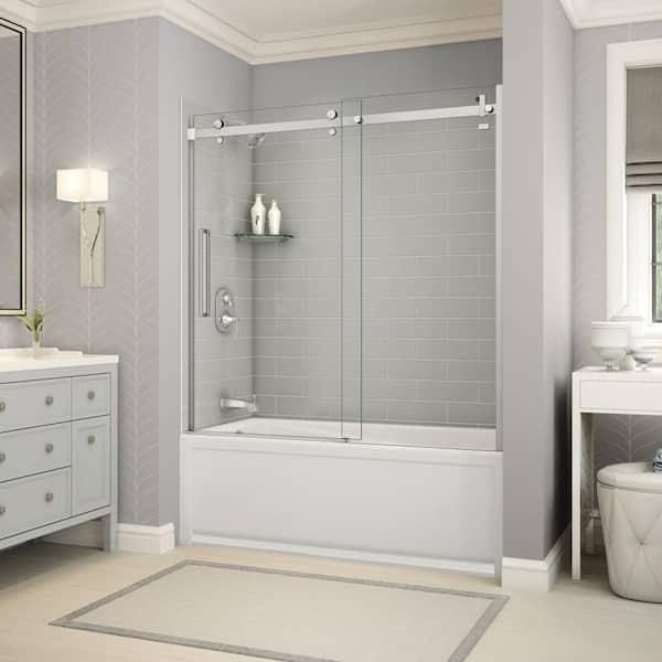 The Home Depot Installed Custom Shower, Bathroom Shower Doors Home Depot