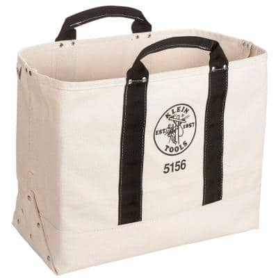 19 in. Canvas Tool Bag