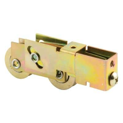 1-1/8 in., Steel Ball Bearing, Tandem Roller Assembly