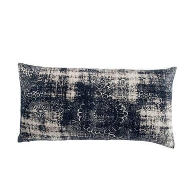 Indigo Bohemian Rectangular Pillow