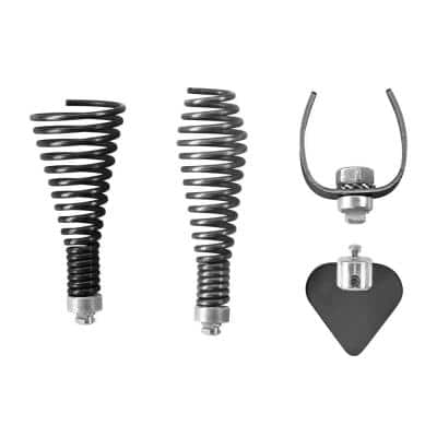 Cutter Tips for Drain Auger P4003 (4-Piece)