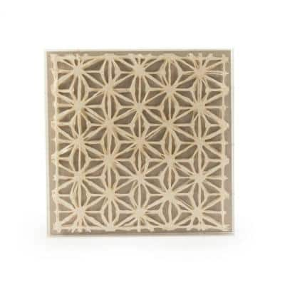 Abstract Paper Framed Wall Art