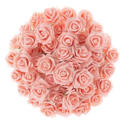 Artificial Rose Bundle in Blush (Set of 50)