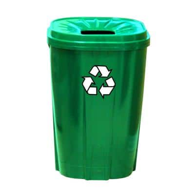 55 Gal. Green Recycling Bin