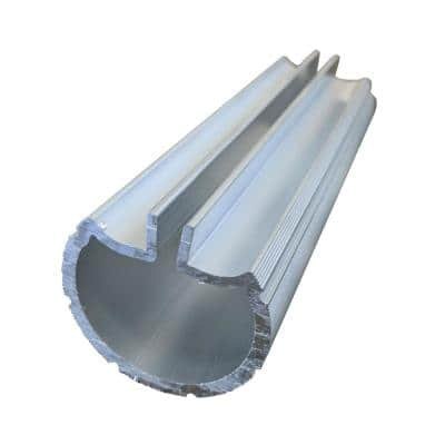 1.9 in. Aluminum Round ADA Handrail 5 in. Internal Splice
