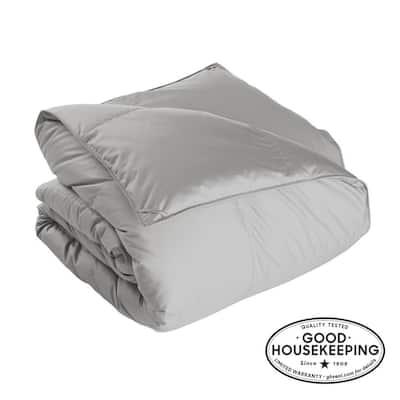 Alberta Light Warmth Platinum King Euro Down Comforter