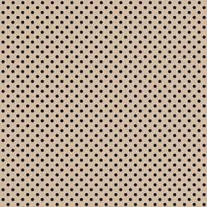 Beige 2 ft. x 2 ft. Perforated Metal Ceiling Tiles (Case of 10)