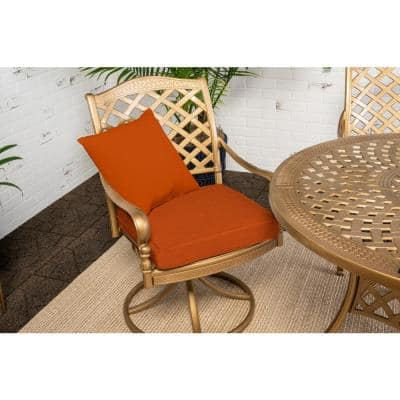 12 oz. Burnt Orange Outdoor Fabric Spray Paint (6 Pack)