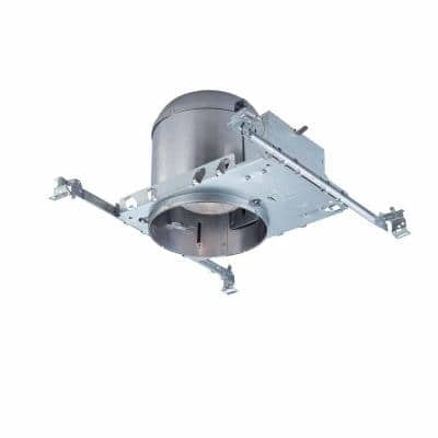 6 in. Aluminum Recessed Can Light IC New Construction Airtight Housing