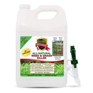 128 oz. All-Natural Weed and Grass Killer Ready-To-Use No Glyphosate