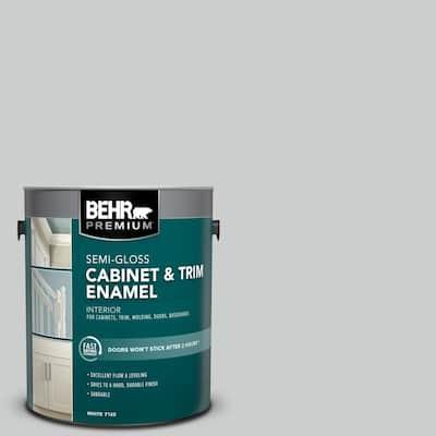 1 gal. #PPU26-16 Hush Semi-Gloss Enamel Interior Cabinet and Trim Paint